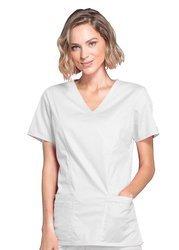 Bluza medyczna Cherokee 4728 Biała