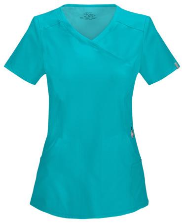 Antybakteryjna damska bluza medyczna  zielona Cherokee Infinity 2625A