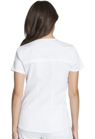 Biała bluza medyczna Cherokee Luxe CK603 Sport