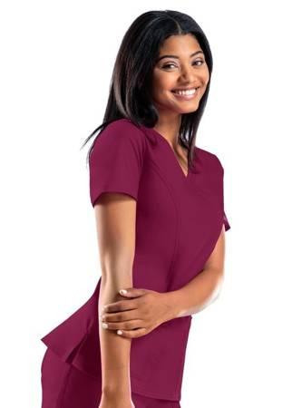 Bluza medyczna Cherokee 4728 Czerwone Wino